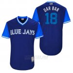 Camiseta Beisbol Hombre Toronto Blue Jays 2017 Little League World Series Darwin Barney Royal