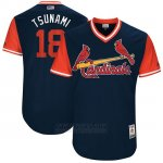Camiseta Beisbol Hombre St. Louis Cardinals 2017 Little League World Series Carlos Martinez Azul