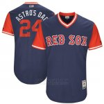 Camiseta Beisbol Hombre Boston Red Sox 2017 Little League World Series 24 David Price Azul