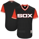 Camiseta Beisbol Hombre Chicago White Sox Players Weekend 2017 Personalizada Negro