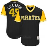 Camiseta Beisbol Hombre Pittsburgh Pirates 2017 Little League World Series Gerrit Cole Negro