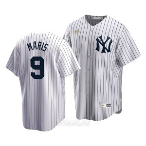 Camiseta Beisbol Hombre New York Yankees Roger Maris Cooperstown Collection Primera Blanco