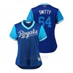 Camiseta Beisbol Mujer Kansas City Royals Burch Smith 2018 Llws Players Weekend Smitty Royal