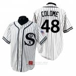 Camiseta Beisbol Hombre Chicago White Sox Alex Colome 1990 Turn Back The Clock Blanco