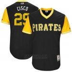 Camiseta Beisbol Hombre Pittsburgh Pirates 2017 Little League World Series Francisco Cervelli Negro