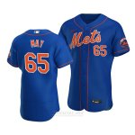 Camiseta Beisbol Hombre New York Mets Trevor May Alterno Autentico Azul