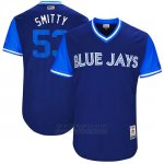 Camiseta Beisbol Hombre Toronto Blue Jays 2017 Little League World Series Chris Smith Royal