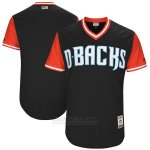 Camiseta Beisbol Hombre Arizona Diamondbacks Players Weekend 2017 Personalizada Negro