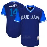 Camiseta Beisbol Hombre Toronto Blue Jays 2017 Little League World Series Justin Smoak Royal