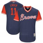 Camiseta Beisbol Hombre Atlanta Braves 2017 Little League World Series 11 Ender Inciarte Azul