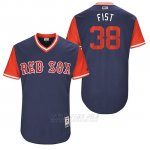 Camiseta Beisbol Hombre Boston Red Sox 2017 Little League World Series Doug Fister Azul