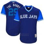 Camiseta Beisbol Hombre Toronto Blue Jays 2017 Little League World Series Devon Travis Royal