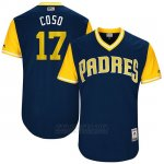 Camiseta Beisbol Hombre San Diego Padres 2017 Little League World Series Allen Cordoba Azul