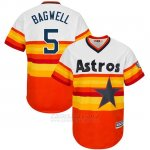 Camiseta Beisbol Hombre Houston Astros Jeff Bagwell Turn Back The Clock Naranja