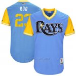 Camiseta Beisbol Hombre Tampa Bay Rays 2017 Little League World Series Jake Odorizzi Azul