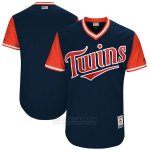 Camiseta Beisbol Hombre Minnesota Twins Players Weekend 2017 Personalizada Azul