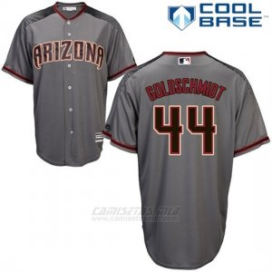Camiseta Beisbol Hombre Arizona Diamondbacks 44 Paul Goldschmidt Gris 2017 Cool Base