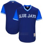 Camiseta Beisbol Hombre Toronto Blue Jays 2017 Little League World Series Azul Azul