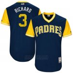 Camiseta Beisbol Hombre San Diego Padres 2017 Little League World Series Clayton Richard Azul