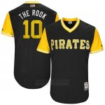 Camiseta Beisbol Hombre Pittsburgh Pirates 2017 Little League World Series Jordy Mercer Negro