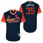 Camiseta Beisbol Hombre St. Louis Cardinals 2017 Little League World Series Greg Garcia Azul