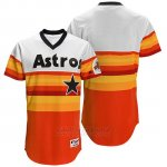 Camiseta Beisbol Hombre Houston Astros Naranja Turn Back The Clock