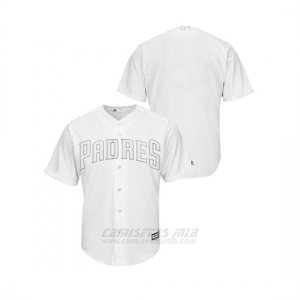 Camiseta Beisbol Hombre San Diego Padres 2019 Players Weekend Replica White Majestic
