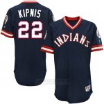 Camiseta Beisbol Hombre Cleveland Indians Jason Kipnis Turn Back The Clock Azul