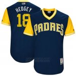 Camiseta Beisbol Hombre San Diego Padres 2017 Little League World Series Austin Hedges Azul