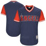 Camiseta Beisbol Hombre Los Angeles Angels Players Weekend 2017 Personalizada Azul