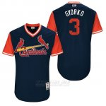 Camiseta Beisbol Hombre St. Louis Cardinals 2017 Little League World Series Jedd Gyorko Azul