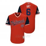 Camiseta Beisbol Hombre Washington Nationals Anthony Rendon 2018 Llws Players Weekend Ant Rojo