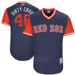 Camiseta Beisbol Hombre Boston Red Sox 2017 Little League World Series 46 Craig Kimbrel Azul