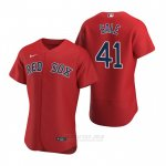 Camiseta Beisbol Hombre Boston Red Sox Chris Sale Autentico Alterno 2020 Rojo