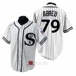 Camiseta Beisbol Hombre Chicago White Sox Jose Abreu 1990 Turn Back The Clock Blanco