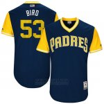 Camiseta Beisbol Hombre San Diego Padres 2017 Little League World Series Christian Friedrich Azul