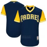 Camiseta Beisbol Hombre San Diego Padres 2017 Little League World Series Azul