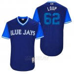 Camiseta Beisbol Hombre Toronto Blue Jays 2017 Little League World Series Aaron Loup Royal
