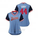 Camiseta Beisbol Mujer Minnesota Twins Kyle Gibson 2018 Llws Players Weekend Gibby Light Toronto Blue Jays