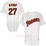 Camiseta Beisbol Hombre San Diego Padres San Diego Matt Kemp 6200 Turn Back The Clock Blanco