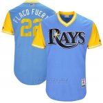Camiseta Beisbol Hombre Tampa Bay Rays 2017 Little League World Series Chris Archer Azul