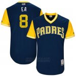 Camiseta Beisbol Hombre San Diego Padres 2017 Little League World Series Erick Aybar Azul