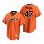 Camiseta Beisbol Hombre Baltimore Orioles John Means Cooperstown Collection Alterno Naranja