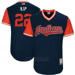 Camiseta Beisbol Hombre Cleveland Indians 2017 Little League World Series Jason Kipnis Azul