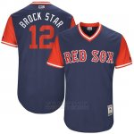 Camiseta Beisbol Hombre Boston Red Sox 2017 Little League World Series Brock Holt Azul