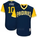 Camiseta Beisbol Hombre San Diego Padres 2017 Little League World Series Hunter Renfroe Azul