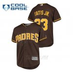 Camiseta Beisbol Nino San Diego Padres Fernando Tatis Jr. Cool Base Alternato Marron