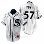 Camiseta Beisbol Hombre Chicago White Sox Jace Fry 1990 Turn Back The Clock Blanco