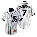 Camiseta Beisbol Hombre Chicago White Sox Tim Anderson 1990 Turn Back The Clock Blanco