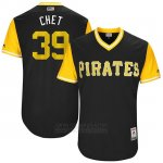 Camiseta Beisbol Hombre Pittsburgh Pirates 2017 Little League World Series Chad Kuhl Negro